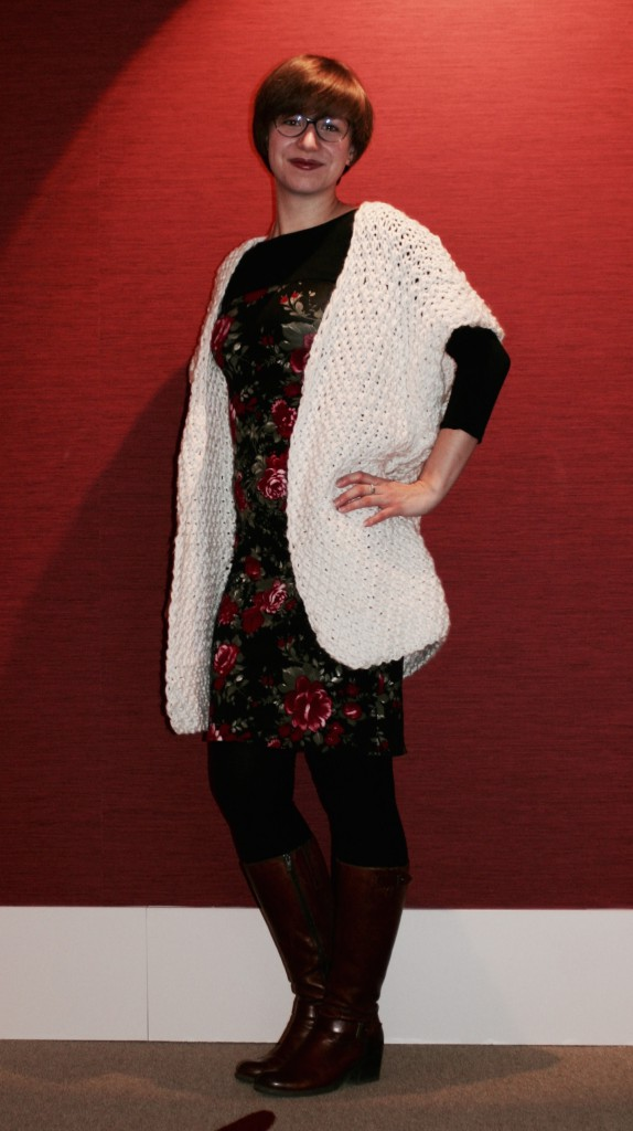 Long Cardigan gestrickt