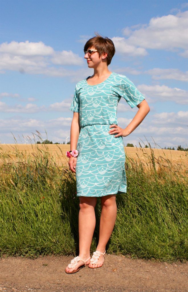 Bettine Dress von Tilly and the Buttons