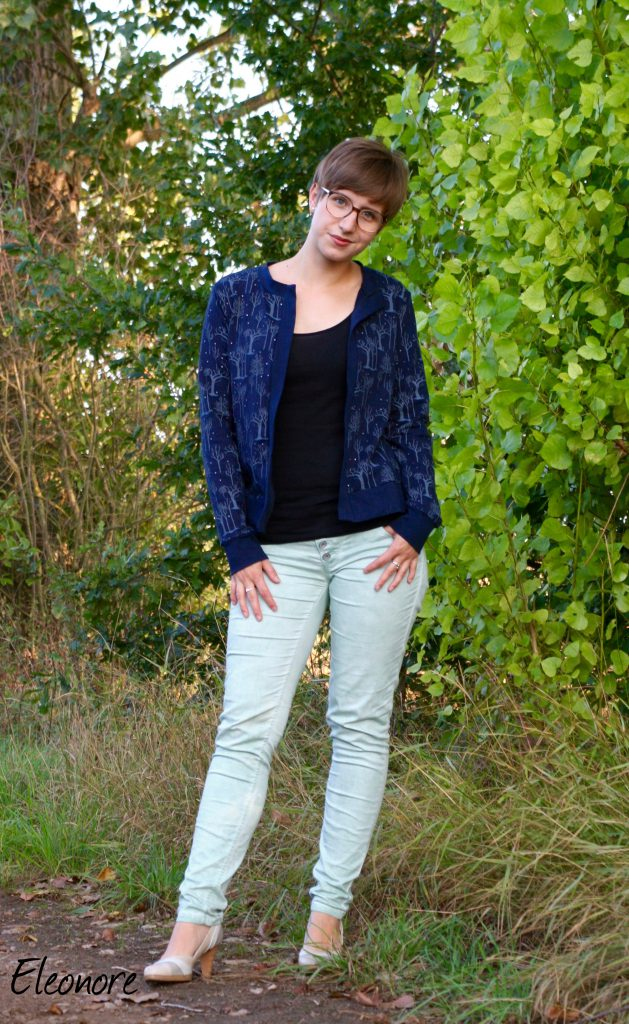 Lisbon Cardigan von itch to stitch